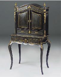 A Victorian gilt metal mounted