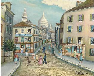 Montmartre et le Sacré-Coeur