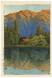 Urabandai Aonuma no asa (Morni
