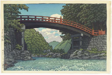 Nikko shinkyo (Sacred Bridge,