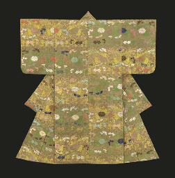 Karaori Noh Costume with Butte