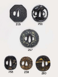 A Group of Six Tsuba