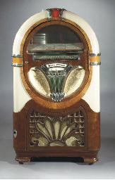 A Wurlitzer 750-C jukebox