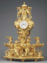 A French gilt-bronze giant str