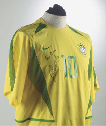 A YELLOW AND GREEN BRAZIL INTE