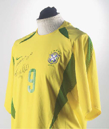 A YELLOW AND BRAZIL INTERNATIO