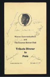 A TRIBUTE DINNER TO PELE TABLE