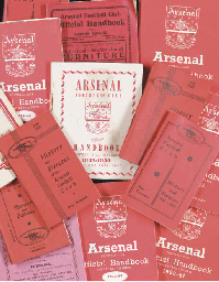 A COLLECTION OF ARSENAL OFFICI