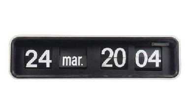 AN AIRPORT FLAPPER CLOCK