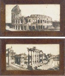 THE COLISSEUM, ROME; THE FORUM