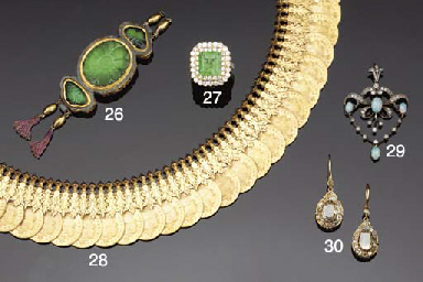 A 19th century, Indian, jade,