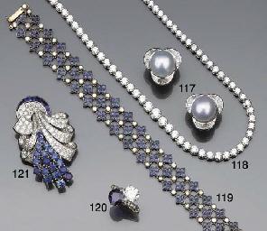 A Russian diamond and sapphire