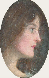 Portrait of Effie Ruskin, prof