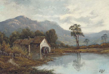 The cottage; and The watermill