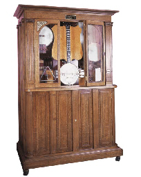 A Ramey coin-operated banjo Or