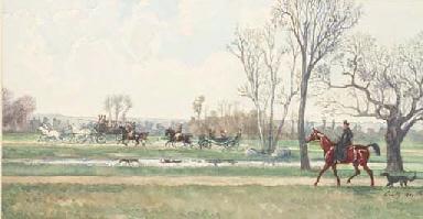 Une femme à cheval avec son ch