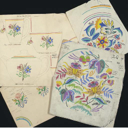 A Quantity of Floral Pattern D