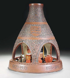 A POOLE POTTERY BOTTLE KILN IN