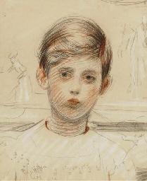 Portrait de Jean Helleu à dix