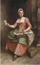 The card seller