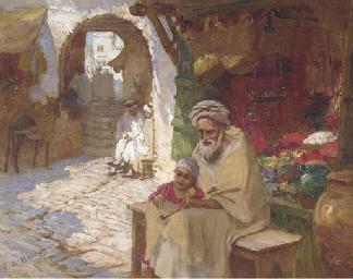 A corner of the bazaar