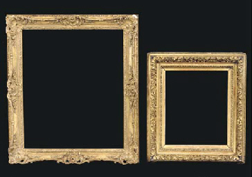 A French Louis XV style frame,