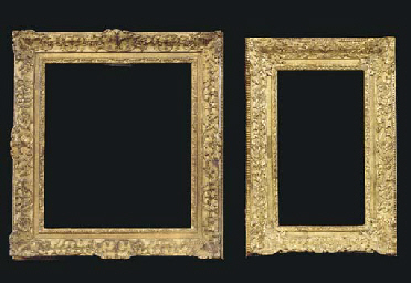 A Louis XIV style frame, with