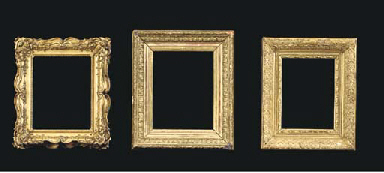 A French gilded composition Ba
