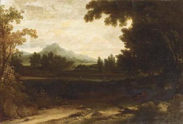 An extensive mountainous lands