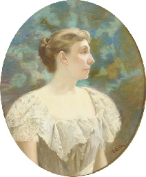 Portrait of Mary Louisa Halste