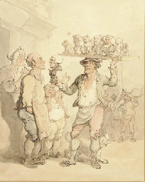 The Plaster Figure Seller; and