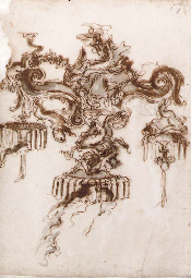 Design for a candelabra with a