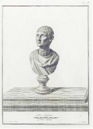 [Ancient Roman Heads]: Six Pla