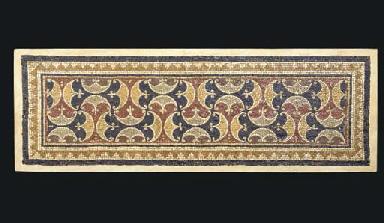 A ROMAN STYLE MOSAIC PANEL,