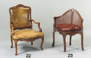 A LOUIS XV STAINED BEECHWOOD F