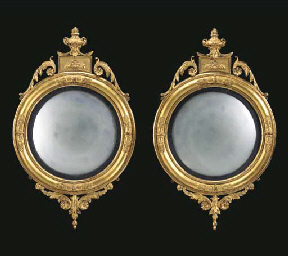 A PAIR OF EARLY VICTORIAN GILT