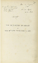 BURTON, Richard Francis.  The