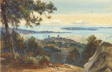 Cannes from Mont-Chevalier
