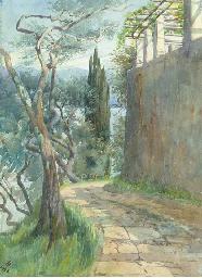 The mule path, near Portofino