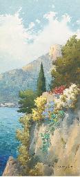 Flowers on the Amalfi coast