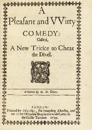 DAVENPORT, Robert (fl.1623). A