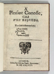 A Pleasant Comedie, Called Wil