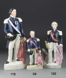 A Staffordshire figure of Char