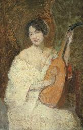 Lady with a Mandolin