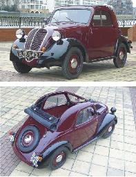 1938 FIAT 500 TOPOLINO