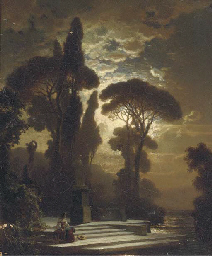 Contemplation by moonlight