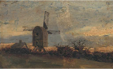 The windmill at Mousehold Heat