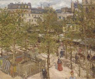 Au jardin à Paris