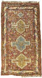 An antique Soumac carpet, East