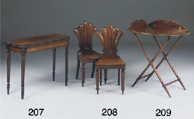 A George IV mahogany butler's
